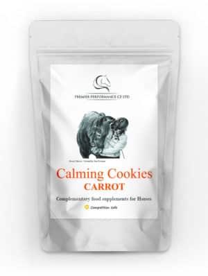 Calming Cookies Carrot Packaging